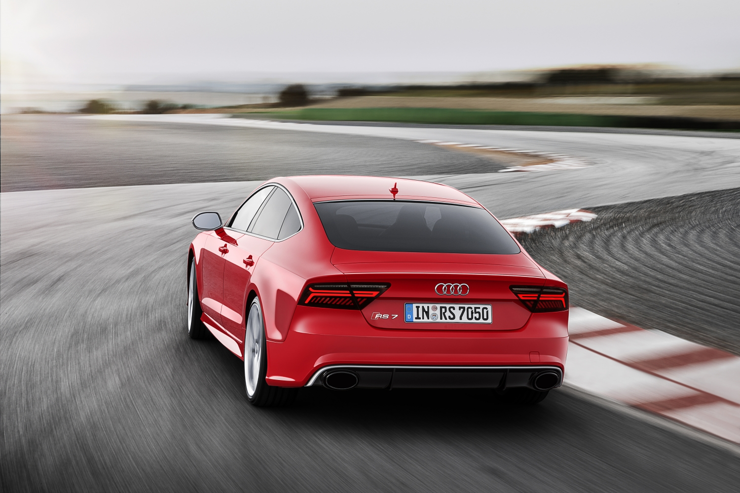 Audi RS7 Sportback: More Aggressive, Sleeker and Faster Than Ever
