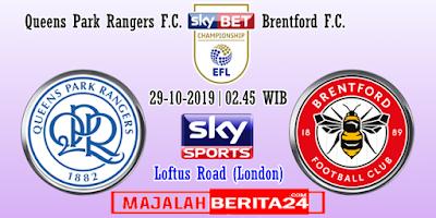 Prediksi QPR vs Brentford — 29 Oktober 2019