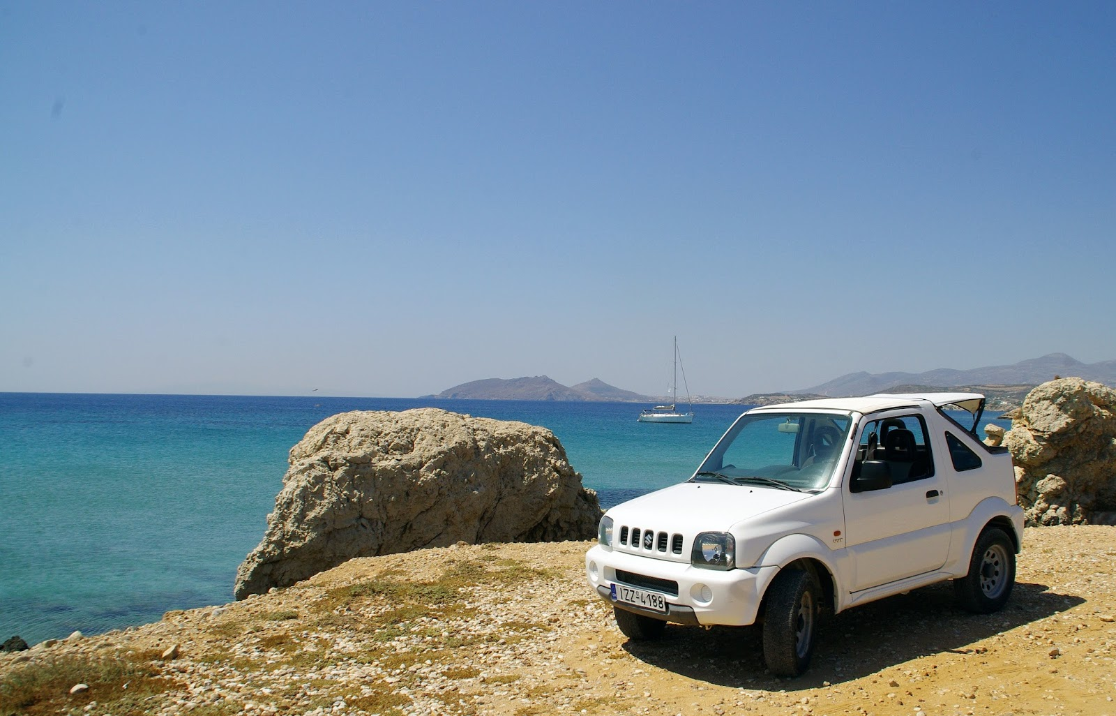 Roadtripping Paros Greek Islands