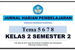Jurnal Harian Pembelajaran Kelas 2 Semester 2 K 13 - Wawasan Pendidikan Nusantara