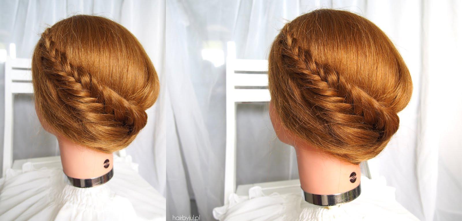 Fryzura Z Kłosem Korona Hair By Jul Fryzury Krok Po Kroku
