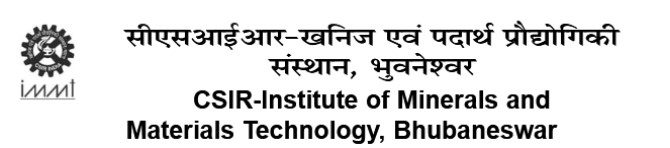CSIR-Institute Of Minerals And Materials Technology Requirement Apply Soon