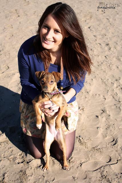 Dia de playa con Chelsea