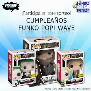 Cumpleaños Funko Pop! Wave 2017