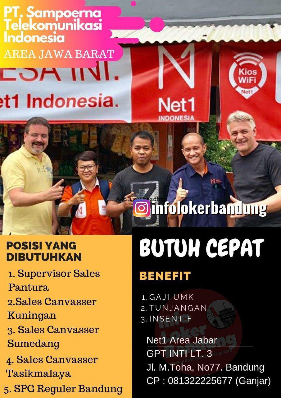 Lowongan Kerja PT.Sampoerna Telekomunikasi Indonesia ( NET 1 Indonesia ) Bandung Oktober 2019