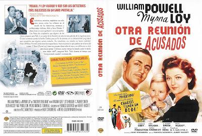 Carátula dvd: Otra reunión de acusados (1939)