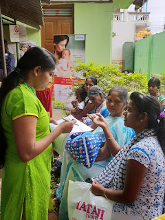 Fortis Hospitals along with Primary Healthcare Centre (PHC) conducts 'Breast-Feeding Training'initative