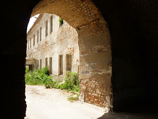 Клевань. Замок Чарторыйских. XV в. Въезд в замок