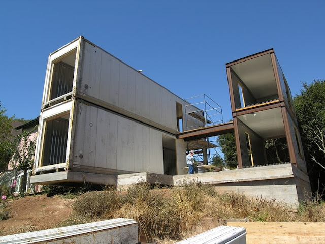 Refrigerated Shipping Container Home, San Francisco, California 13