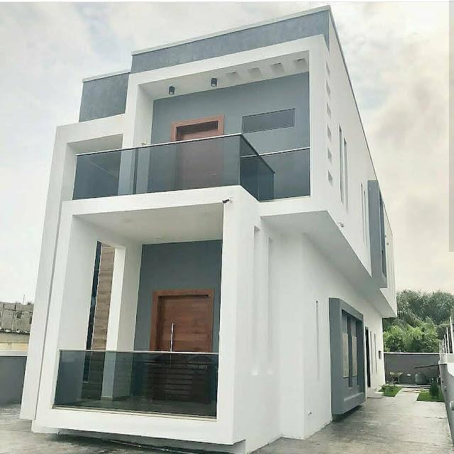 Gambar rumah dua tingkat elegan