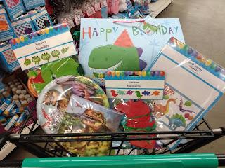 Dollar Tree Dinosaur Party Supplies