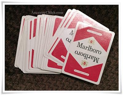 Tuesday Treasures Marlboro Playing Cards