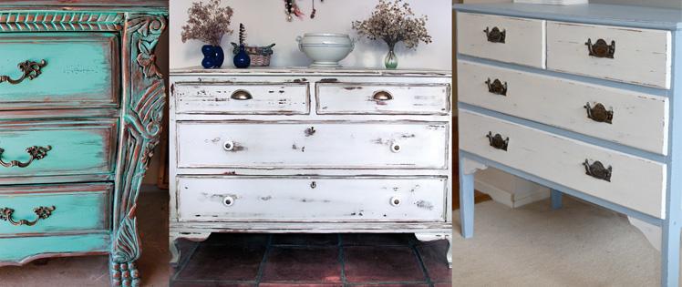 Aprendiz de pintura - Pintura ala tiza para muebles ...