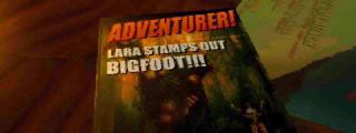 Adventurer! Lara Stamps Out Bigfoot!! magazine