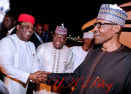 Umahi Allegedly Refuses To Serve As Atiku's S'East Campaign Coordinator, Vows To Work For Buhari