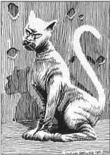 Tarlech's Mummy Cat