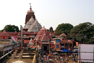 jagannath temple during day time, Puri, Odisha, India