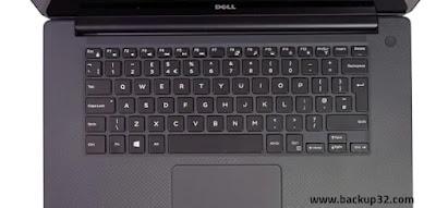 لوحة المفاتيح اللمس Dell Precision 5510