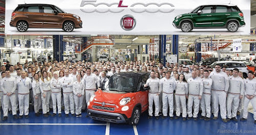 Fiat 500L 500,000 production