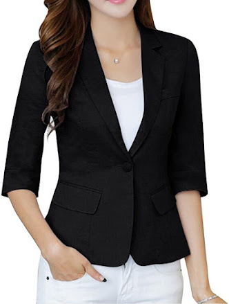 Quality Linen Blazers For Women