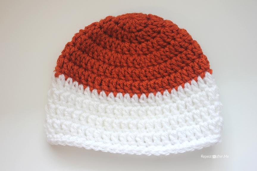 daafe87d0 Crochet Fox Hat - Repeat Crafter Me