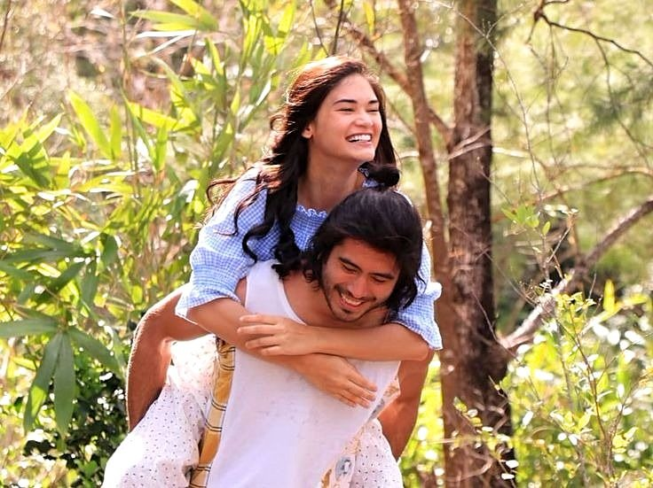 Pia Wurtzbach as Abi and Gerald Anderson as Burn in 'My Perfect You'