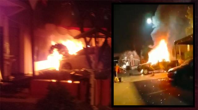 Pembakaran Polsek Ciracas Diduga Buntut Penganiayaan Anggota TNI
