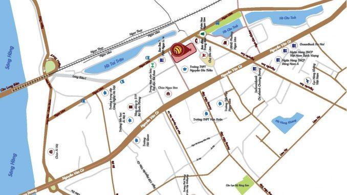 Vị trí chung cư One 18 Ngọc Lâm Long Biên