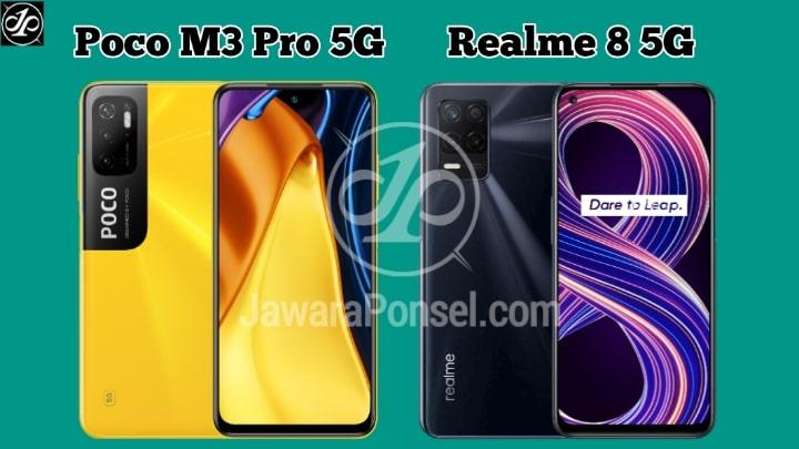 Lebih bagus mana Poco M3 Pro 5G VS Realme 5G
