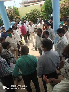 सचिव रोजगार सहायक संयुक्त मोर्चा संगठन ने दी हड़ताल पर जाने की चेतावनी
