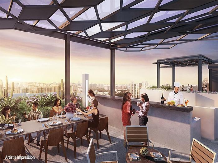 gem residences lounge terrace