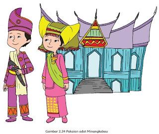 Pakaian adat Minangkabau www.simplenews.me