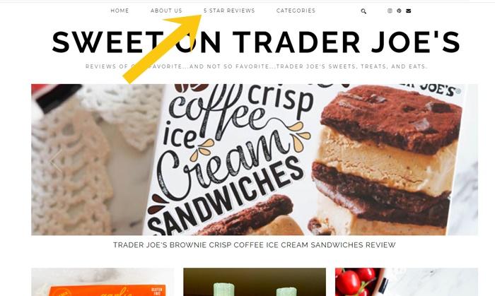 A new Trader Joe's review blog: Sweet on Trader Joe's