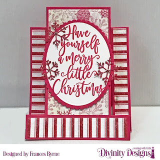 Stamp Set: Silent Night  Custom Dies: Center Step A2 with Layers, Ovals, Scalloped Ovals, Merry Christmas, Christmas Dove,  Paper Collection: Snowflake Season
