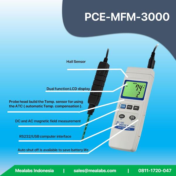 PCE-MFM-3000 Gaussmeter
