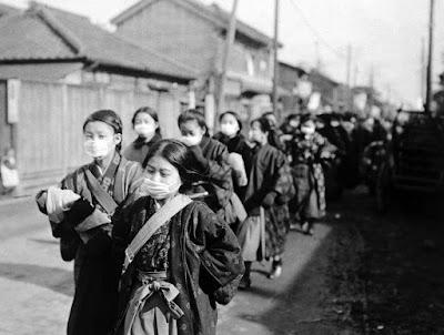 influenza outbreak japan