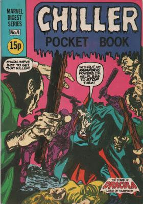 Chiller pocket book #4, Dracula