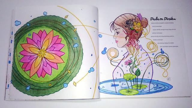 """Ilustrasi Puisi """"Dalam Diriku"""""""