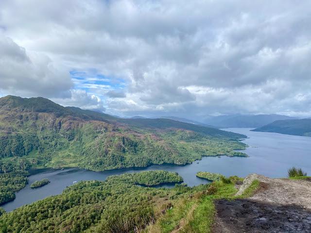 Loch Katrine view from Ben A'an, Trossachs National Park, Scotland