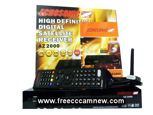 شرح طريقة إدخال سيرفر CCCAM لجهاز ECHOSONIC AZ 2000,شرح طريقة إدخال سيرفر CCCAM, لجهاز ,ECHOSONIC AZ 2000,
