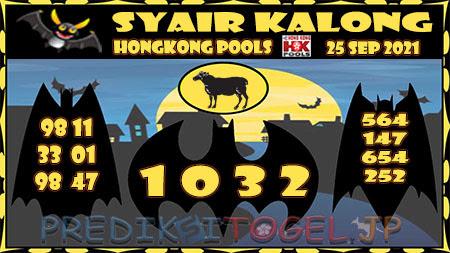 Kalong HK Sabtu 25 September 2021 -