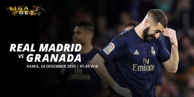 PREDIKSI PARLAY REAL MADRID VS GRANADA KAMIS 24 DESEMBER 2020