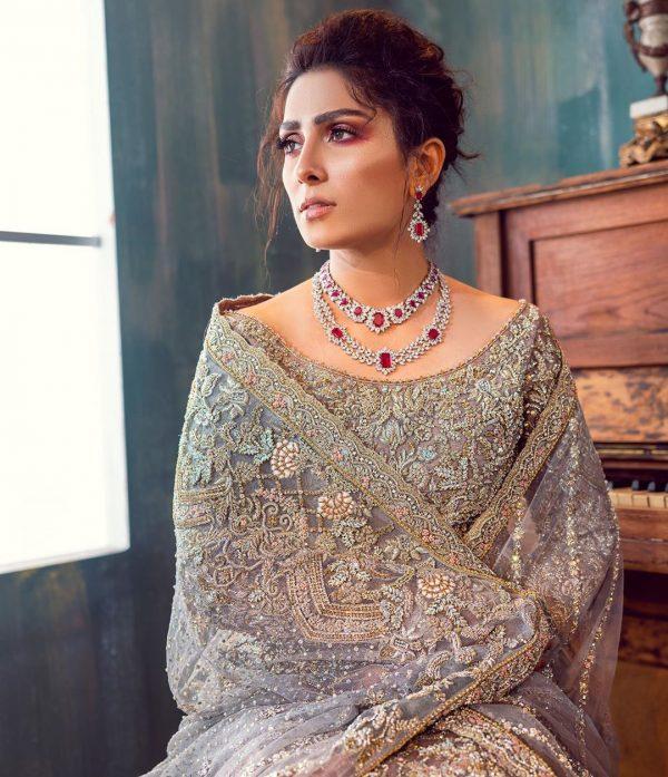 Ayeza Khan New Bridal Photoshoot is so Magical
