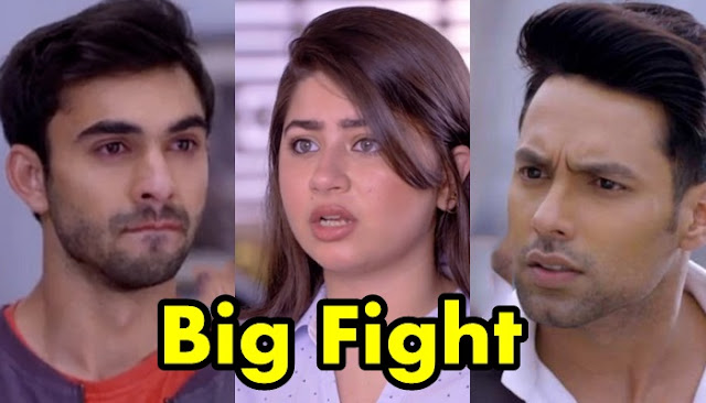 Big Fight : Yug Karan's fight turns war for Ruhi Aliya in Yeh Hai Mohabbatein