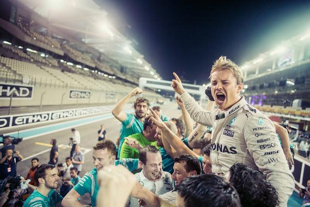Nico Rosberg pensiun