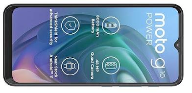 موتورولا موتو جي10 باور Motorola Moto G10 Power الإصدار: PAMR0002IN, PAMR0008IN, PAMR0010IN