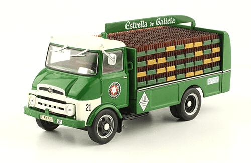 Ebro C150 1966 Estrella de Galicia vehículos de reparto y servicio salvat