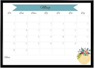 Calendari maig imprimible