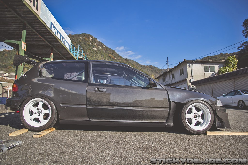 hechtspeed tactical art of japan eg6 track civic hatchback