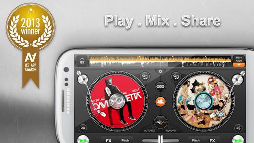Samsung Galaxy Note Ii Edjing Pro Dj Mixer Turntables V1 0 1
